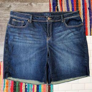 Lucky Brand Plus Size 'Georgia Short' Shorts